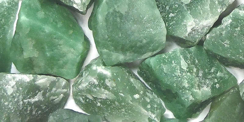Aventurina Verde en bruto aventurina propiedades aventurina azul, negra, venturina piedra