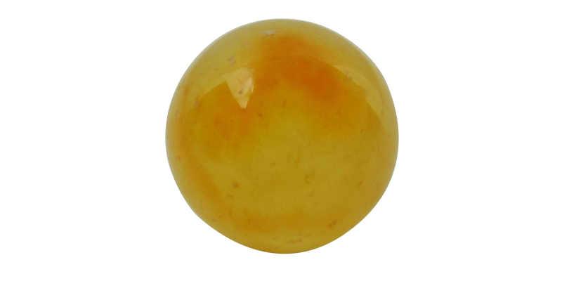 Esfera o bola de cuarzo citrino naranja