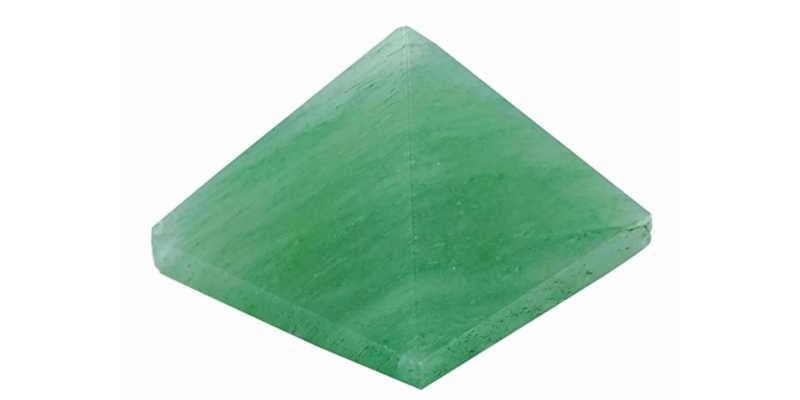 Pirámide de Cuarzo Verde